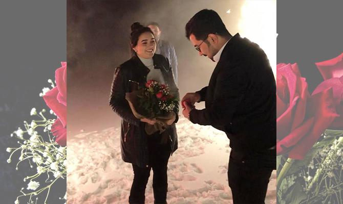 Ahırdağında karlar altında benimle evlenirmisin dedi