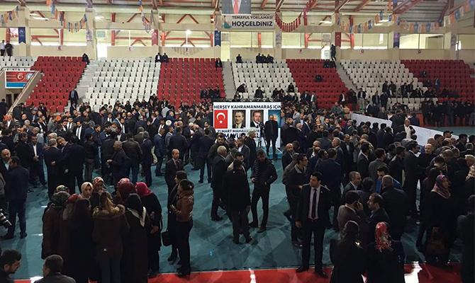 Kahramanmaraş Ak Parti'de temayül başladı