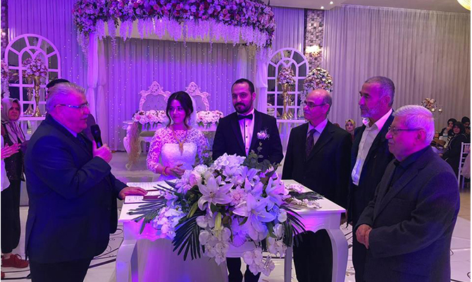 AA Editörü Mustafa Çalkaya evlendi
