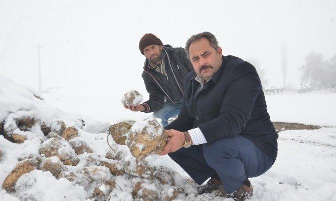 Elbistan'da şeker pancarı üreticileri isyanlarda