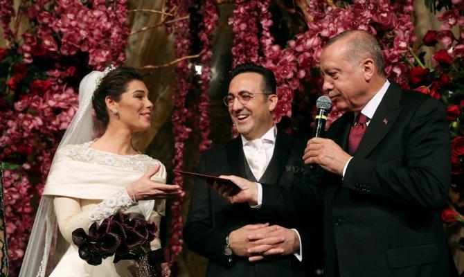 THY Yönetim Kurulu Başkanı evlendi Erdoğan şahit oldu