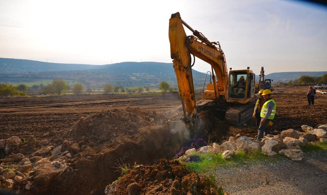 Kanalizasyon Altyapı Çalışmaları Aralıksız Sürüyor