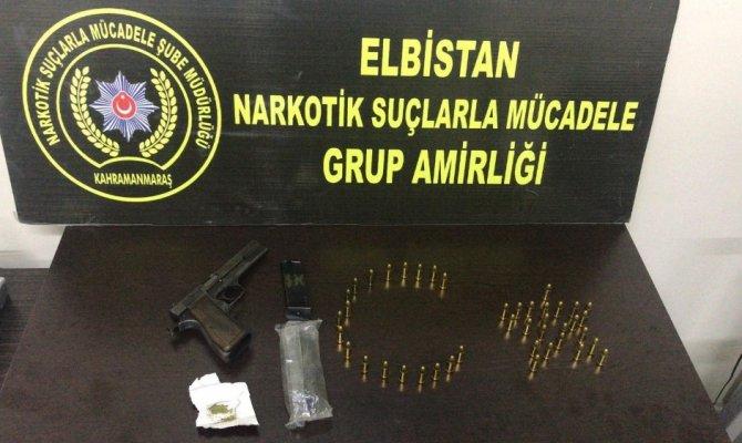 Elbistan'da uyuşturucu operasyonu
