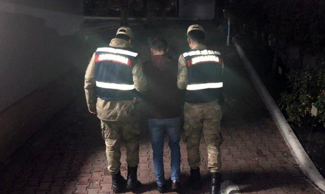Cezaevi firarisi saklandığı bazada yakalandı