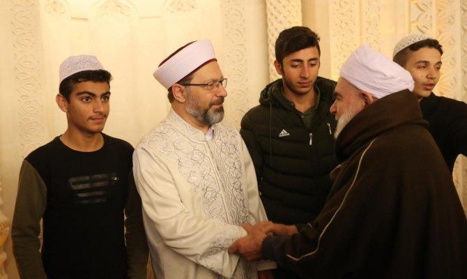 Diyanet İşleri Başkanı Mardin'de hutbe verdi