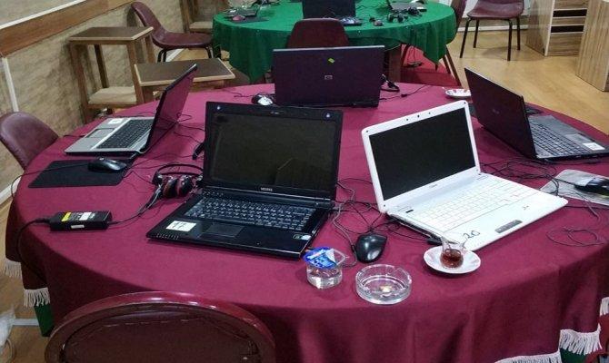 İnternet kafeye kumar baskını
