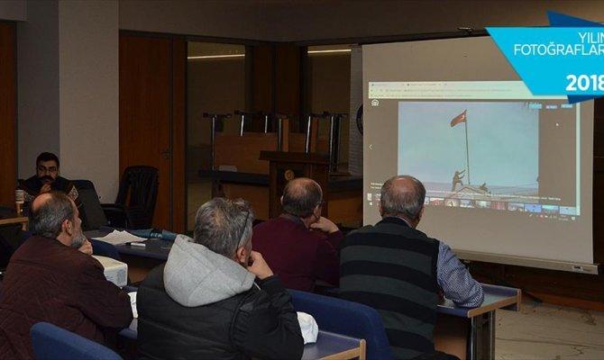 İHA pilotlarının tercihi 'Türk Bayrağı Afrin'de' oldu