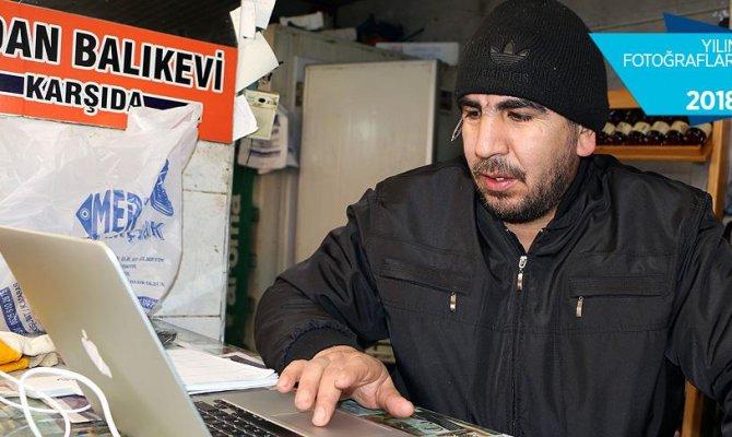 """Kahramanmaraşlı Balıkçı esnafı AA'nın """"Yılın Fotoğrafları"""" oylamasına katıldı"""