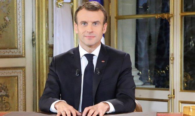 """Macron: """"Ekonomik ve sosyal OHAL'deyiz"""""""