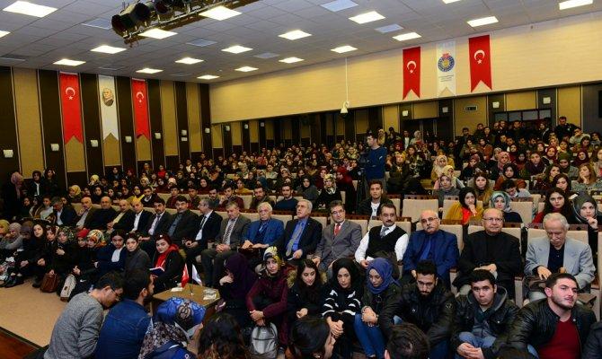 KSÜ'de konferanslar renkli geçiyor