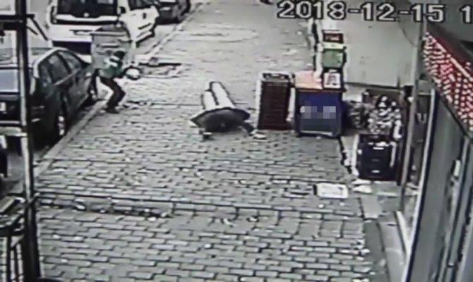 Gaziantep de Sokak ortasında böyle vuruldu