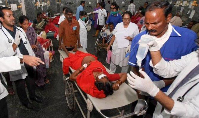 Hindistan'da verilen yemekten 12 kişi öldü, 80 kişi yaralı