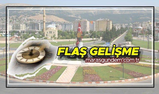 Kahramanmaraş'ta Yedi Kuyular Kayak Merkezinden inen aracın freni boşaldı