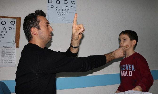 Kahramanmaraş'ta 4 bin çocuk o taramadan geçti