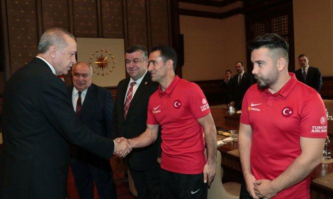 Ampute Futbol Milli Takım ile bir araya geldi