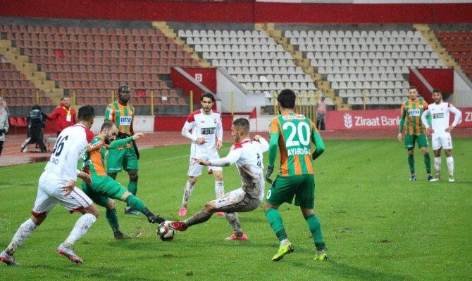 Kahramanmaraşspor  Aytemiz Alanyaspor'u 2-1 yendi