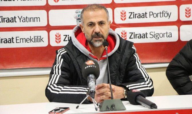 Sergen Yalçın: Kahramanmaraşspor oynadı kazandı