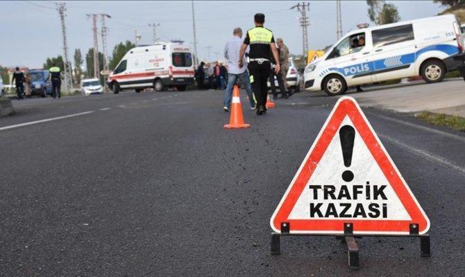 Kahramanmaraş'ta otomobil ters yönde giden bisiklete çarptı