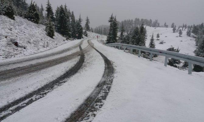 Göksun ilçesinde okullar kar yağışı nedeniyle tatil edildi