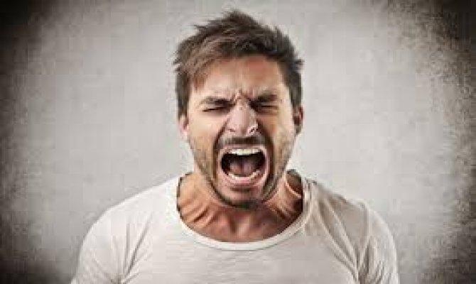 Bazıları öfkesini denetlemeyi istemiyor!