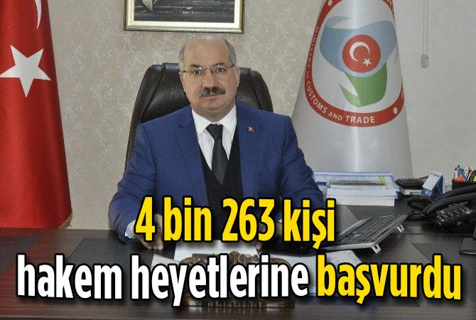 4 bin 263 kişi hakem heyetlerine başvurdu