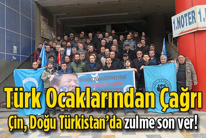Çin, Doğu Türkistan'da zulme son ver!