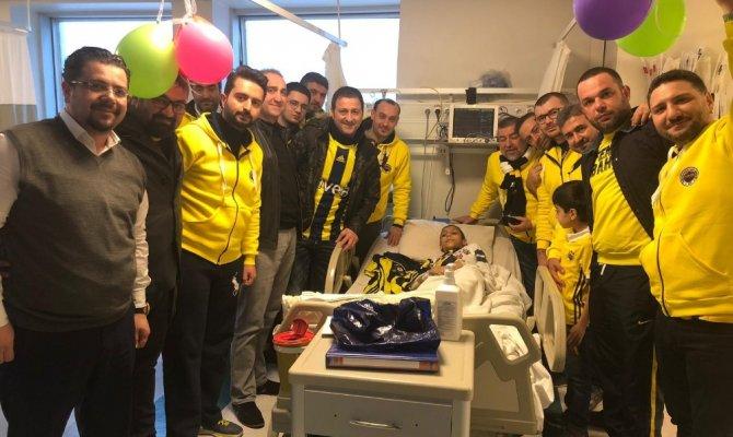 14 yaşındaki Yunus Samet Atalay, büyük mutluluk yaşadı