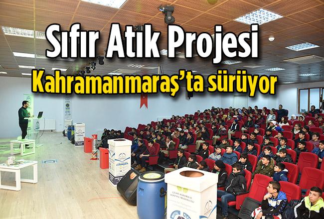 Sıfır Atık Projesi, Kahramanmaraş'ta sürüyor