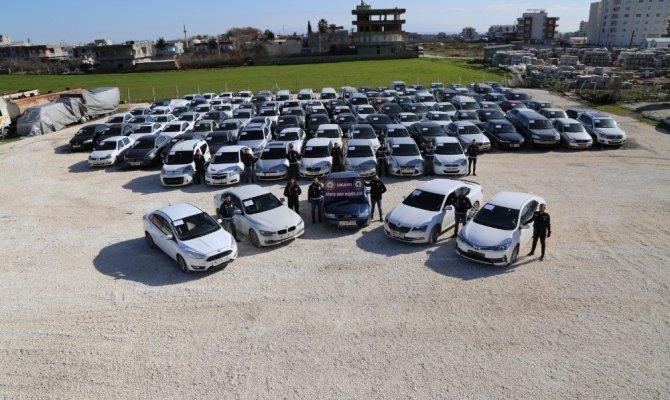 120 çalıntı araç ele geçirildi! Son yılların en büyük operasyonu