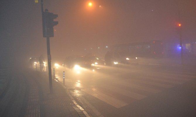 Bursa'da Sisli gece