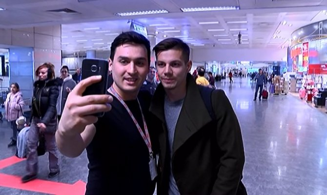 Miha Zajc, İstanbul'a geldi