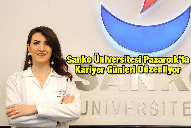 Sanko Üniversitesi Pazarcık'ta Kariyer Günleri Düzenliyor