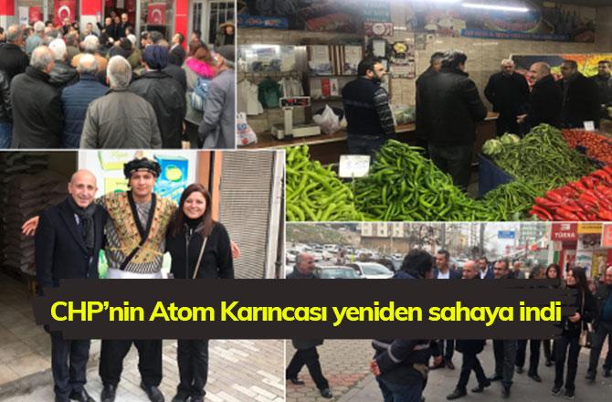 CHP'nin Atom Karıncası yeniden sahaya indi
