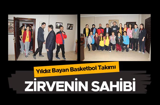 Yıldız Bayan Basketbol Takımı Zirvede