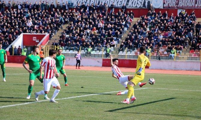 Kahramanmaraşspor, Fethiyespor sahadan berabere ayrıldı