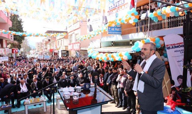 AK Partili Mahir Ünal'ın bugün ikinci durağı Afşin oldu