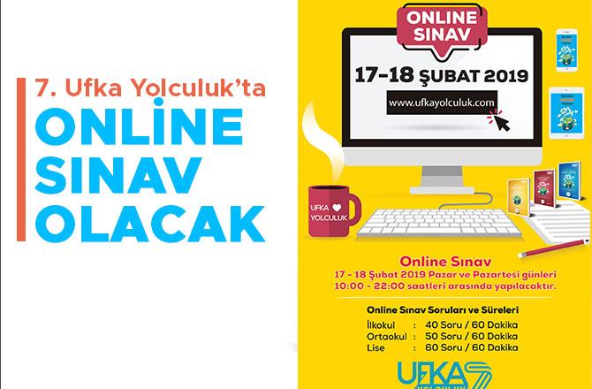 7. Ufka Yolculuk'ta Online Sınav olacak