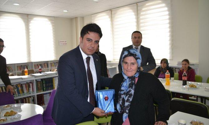 Andırın'da engelliler için kütüphane etkinliği düzenlendi
