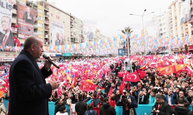 """Cumhurbaşkanı Erdoğan: """"Kahramanmaraş'a 30 katrilyon yatırım yaptık"""""""