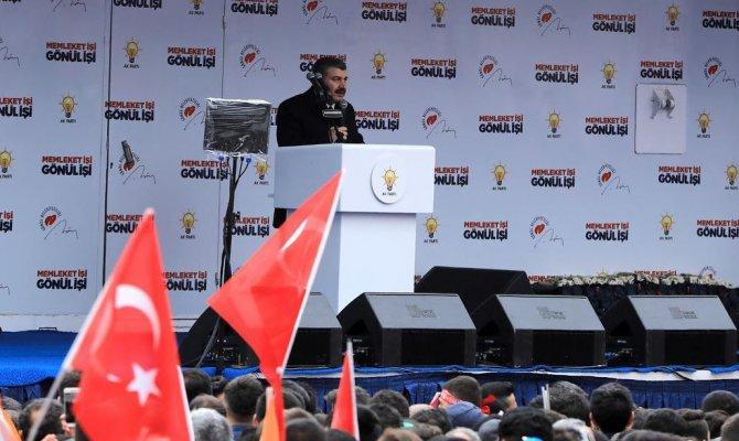 Sağlık bakanı Kahramanmaraş'ta konuştu