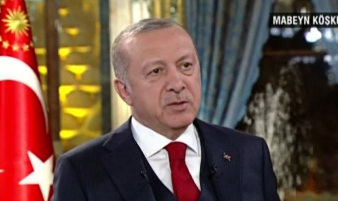 Cumhurbaşkanı Erdoğan CNN TÜRK'te  soruları yanıtlıyor