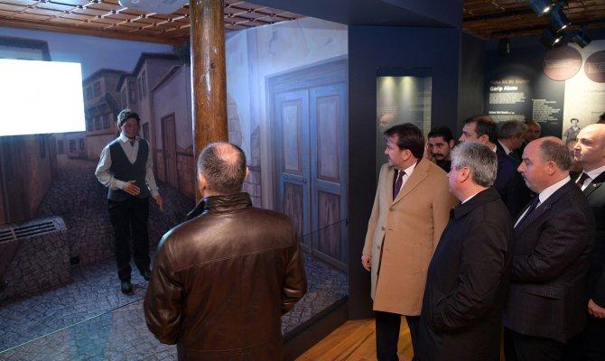 DOĞAKA Heyeti Yedi Güzel Adam Edebiyat Müzesini Gezdi