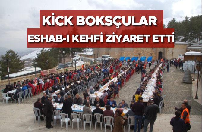 Kick boksçularEshab-ı Kehfi ziyaret etti