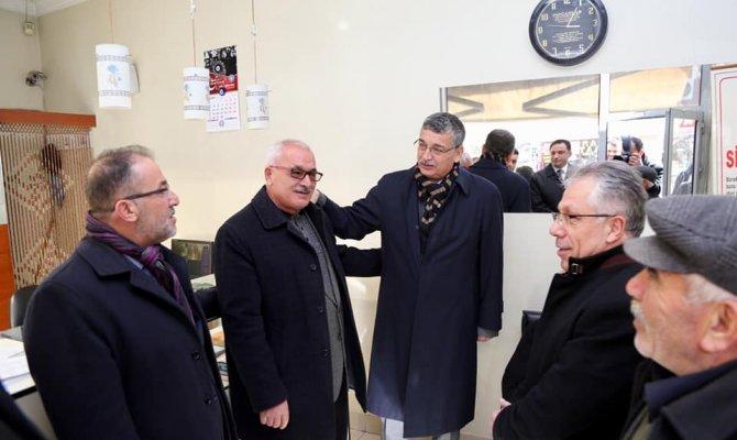 Milletvekili Güvenç, vatandaşlar ve esnafı ziyaret etti
