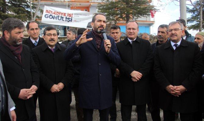 Ahmet Özdemir Cumhurbaşkanımız Göksun'a Bir Güzellik Yaptı