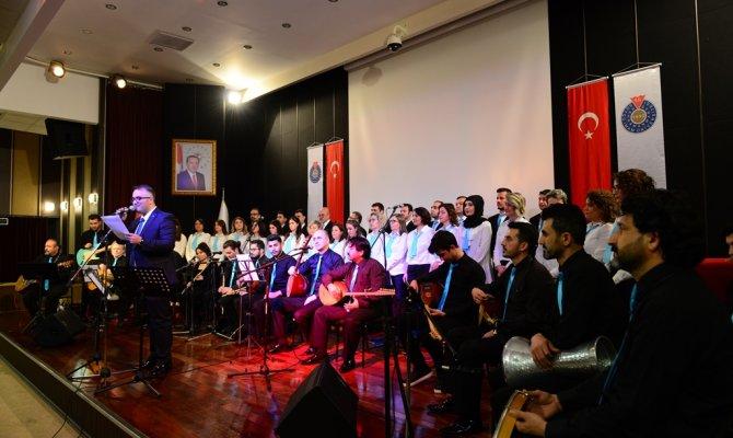 Ksü Türk Halk Müziği Korosundan Muhteşem Konser