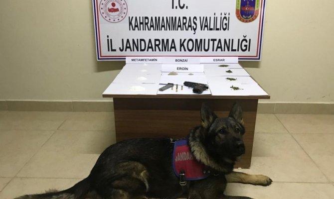 Kahramanmaraş'ta uyuşturucu satıcıları yakalandı