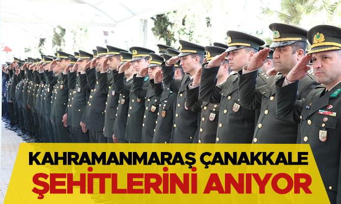 Kahramanmaraş'ta Çanakkale şehitlerini anıyor