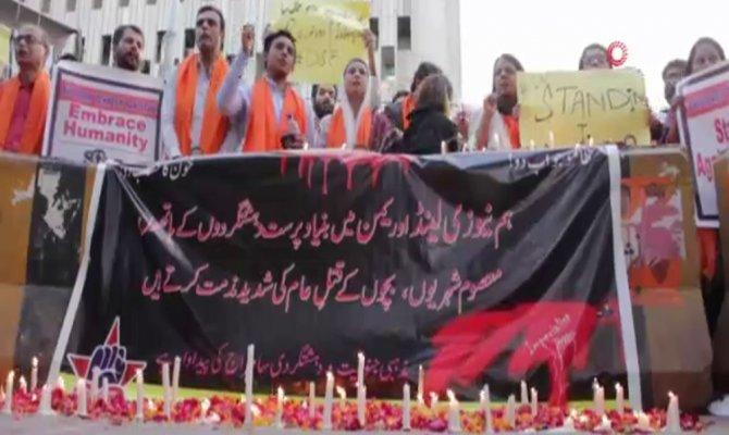 Pakistan'da Yeni Zelanda kurbanları anıldı