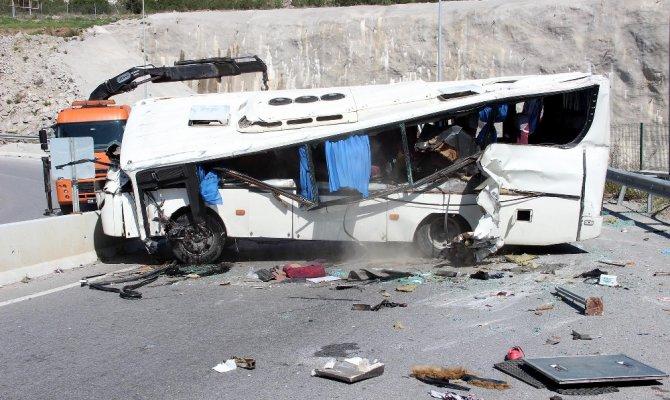 Kazada 34 kişi yaralandı